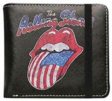 The Rolling Stones 'USA Tongue' Wallet - NEW