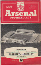 First Division Home Teams Written - on Football Programmes