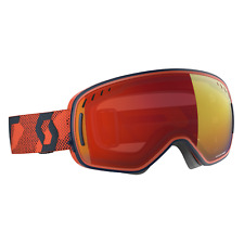 Scott LCG Goggle - Blue/Orange - Enhancer Red Chrome + Illuminator Blue Chrome