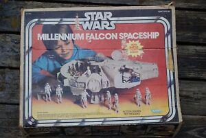BOX ONLY ~Vintage Star Wars MILLENNIUM FALCON Spaceship Kenner original