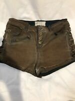 Free People Women's Shorts Size 26 Brown