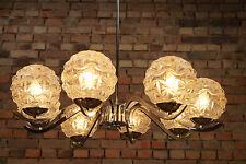 60er XXL Plafonnier chromé LUSTRE LAMPE Pendant lampe PANTON ERA ANNÉES 70 3