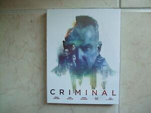 Criminal BLU-RAY Limited Edition / Kevin Costner, NOVA