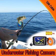 "800TVL 3.5"" Monitor Underwater Fishing 8 IR LED Camera 30M Cable Fish Finder"