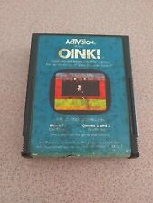 Oink (Atari 2600, 1982) Video Game Cartridge Only Tested Work Perfect