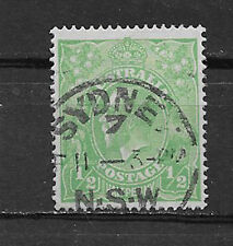 AUSTRALIA , GEORGE V , 1924 , 1/2p STAMP , PERF , USED