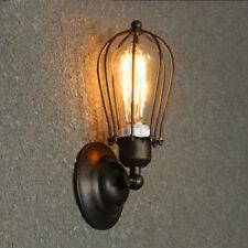 Modern Vintage Retro Lamp Loft Iron Industrial Rustic Sconce Wall Light Lamp DIY