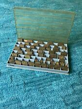 New Hermes Brass Engraving Fonts 35 005 Interlocking Upper Case Letters Symbols