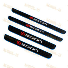 Blue B Rubber Car Door Scuff Sill Cover Panel Step Protector 4PCS NEW For SCION