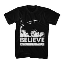 The X Files Science Fiction Tv Show Ufo Flying Believe Adult T Shirt