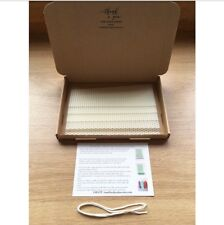 Beeswax Candle Making Kit, 5 Beeswax sheets, Instruction, Wick Ivory White Wax