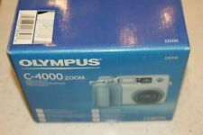 Olympus CAMEDIA C-4000 Zoom 4.0MP Digital Camera - Silver