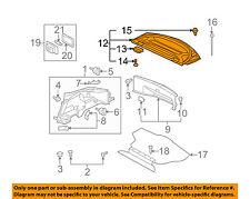 MITSUBISHI OEM 06-12 Eclipse INTERIOR-REAR BODY-Package Tray Trim MN121067HA