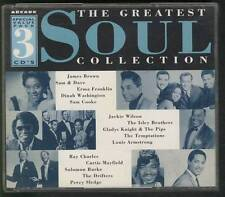GREATEST SOUL COLLECTION 1994 3-CD  ARCADE Curtis Mayfield Isaac Hayes Sam Cooke