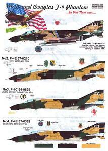 Print Scale Decals 1/72 McDONNELL DOUGLAS F-4 PHANTOM II IN VIETNAM