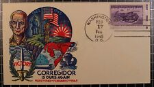 17 Feb 1945 - Staehle Corregidor Is Ours Again WWII Patriotic Cover Unaddressed