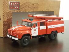 1:43 ZiL-130 ATs-40 (130)63B - Fire Engine - Pompiers - Feuerwehr - DeAgostini