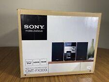 Sony CMT-FX300i Micro Hi-Fi Component Stereo CD/iPod/Radio/Aux COMPLETE IN BOX