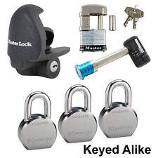 Master Lock - 6 Trailer Locks Keyed Alike  6KA-3796230-37