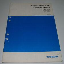 Werkstatthandbuch Volvo 850 Alarmanlage Auto Alarm Störungssuche Schaltplan 1992