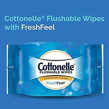 Flushable 100% Biodegradable Alcohol Free Moist Wet Wipes For Adults In Bathroom