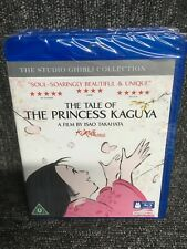 The Tale of Princess Kaguya - Studio Ghibli - Blu Ray & DVD - Brand New & Sealed