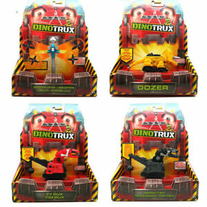 Mattel Dinotrux Dozer Skya D-Structs Ty Rux Diecast Dreamworks Toy Kids Gift New