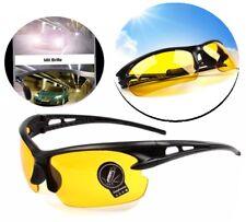 Sonnenbrille Nachtsichtbrille Nachtfahrtbrille Kontrastbrille Gelb Brille