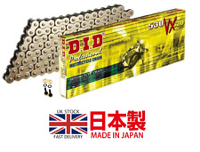 HONDA CB1000 R / RA ABS 2008 - 2016 DID Heavy Duty X-Ring Gold Chain 530VX 116L