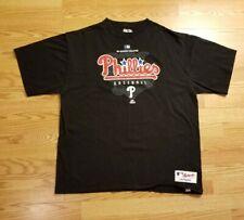 Majestic Authentic Collection Philadelphia Phillies Baseball Mens XL T-shirt