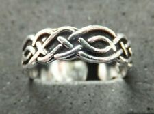 *Bn* good quality, sturdy toe ring Celtic Knot Toe Ring, Solid Sterling Silver