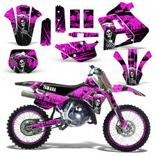 Yamaha Graphic Kit WR 250Z Dirt Bike Decal w/ Backgrounds WR250Z 91-93 REAP PINK
