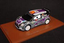 Spark Citroën DS3 WRC 2011 1:43 #14 van Merksteijn / Chevallier Acropolis Rally