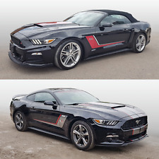 Ford Mustang 2015 - 2017 ROUSH Side Stripes Graphic Decals kit 2 colors
