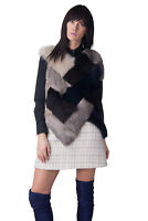 MAISON MARTIN MARGIELA Fur Front Top Size 46 / XL V-Neck Made in Italy RRP €1690
