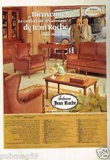 Publicité advertising 1980 Meuble fauteuil Jean Roche