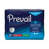 Prevail Underwear For Men, SMALL / MEDIUM, Pull On, PUM-512/1 - Case of 80