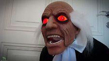 Beistelltisch Kellner Deko-Butler m.Tablet animiert Geräuschsensor Halloween
