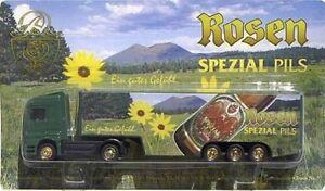 Rosenbrauerei Nr.11 - Lim. Serie Nr.7 - + MB Actros SZ+KW 25 € (OVP) NEU