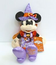 "Disney Minnie Mouse in Witch Costume Halloween Plush 15"" from Disney Store"