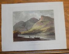 1821 Print, Aquatint Tour of English Lakes///WAST WATER