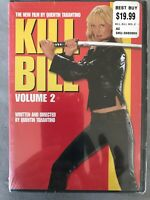 Kill Bill Volume 2 DVD NEW SEALED QUENTIN TARANTINO UMA THURMAN
