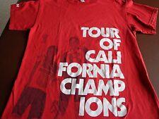 Tour of California Champions Medium T-Shirt Nissan Cycling Bicycle Racing T9