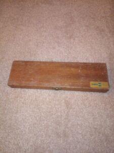 Vintage Float Wooden float box