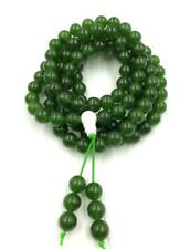 8 mm108 natural Green Jade Stone mala bracelet chakra meditation yoga necklace