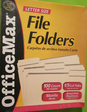 Office Manila Envelopes 13 Cut 9 Folders Env File Letter Size Office Max