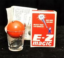 Vintage E-Z Magic Its Amazing & Mystifying VANISHING WHISKEY GLASS NOS NIB