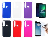 Etui Gel Silicone Housse Coque Pour Motorola Moto G8 Plus + Protecteur Optionne