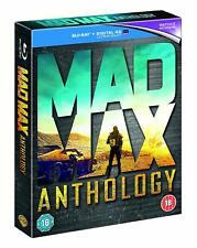 Mad Max Anthology [Blu-ray Box Set Region Free 4-Movies Road Warrior Fury Road]