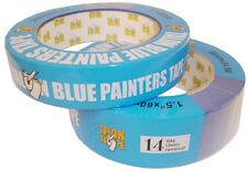 10 Rolls Blue Painters Masking Tape - Talon Tape: 1 INCH x 60 yds